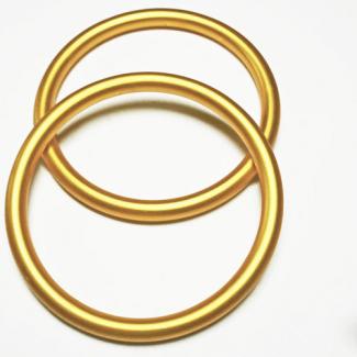 Anneaux de portage Doré Taille L (1 paire)