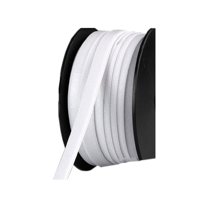 Non slip Elastic 13mm White (by meter)