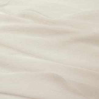 Tulle de coton bio Blanc