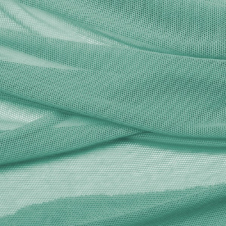 Organice cotton Mesh fabric Frozen Green