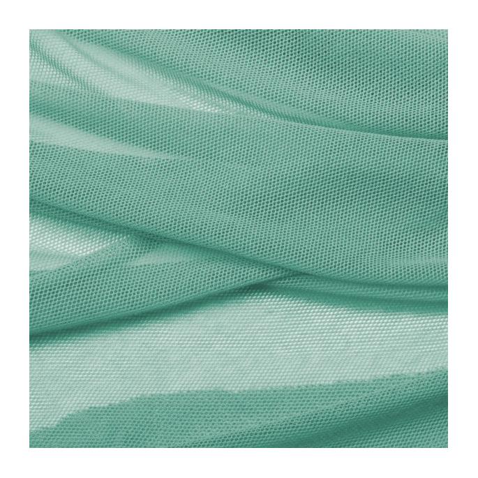 Tulle de coton bio Vert