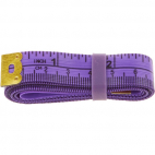 Fiberglass Tape Measure with silicon band 150cm PURPLE