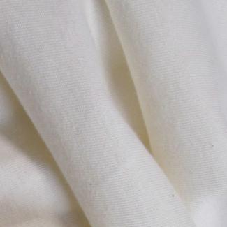 White organic cotton PUL