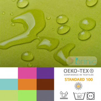 Oekotex certified coated PUL