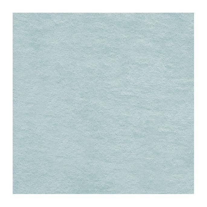 Micro éponge coton bio GOTS bleu ciel