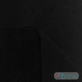 Bamboo / Microfibre Combo Velours Terry Oekotex Black