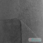 Biface Bambou / Microfibre Eponge velours Oekotex Gris