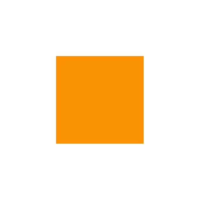PUL Oekotex standard Orange Coupon de 50cm x 50cm