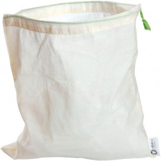Sac en coton bio réutilisable XS rectangle (à l'unité)