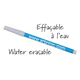 Water erasable Pen - blue ink