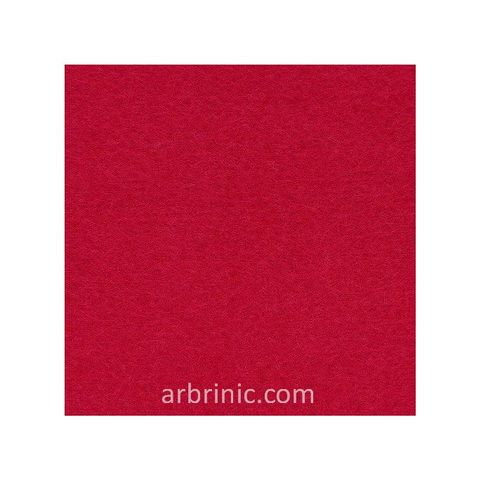 Feutrine Feuille A4 Rouge