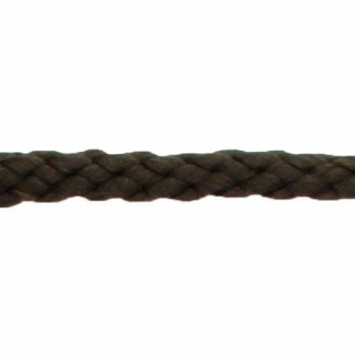 Braided Poly Cord 5mm Dark Brown (50m roll)