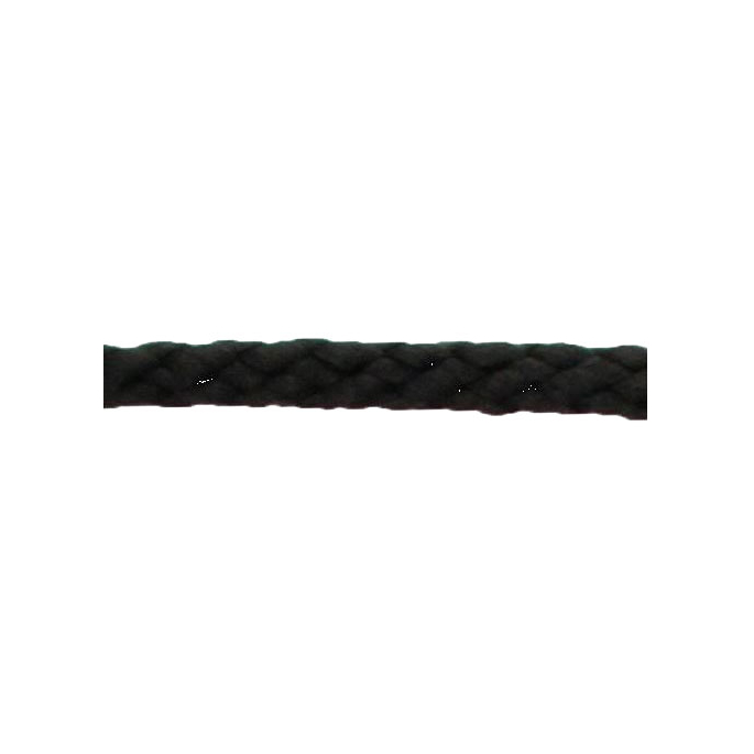 Braided Poly Cord 5mm Black (50m roll)