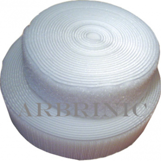 Scratch 3.8cm LOOP only White (25m roll)