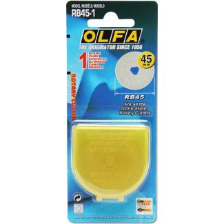 Lame de rechange pour cutter rotatif OLFA 45mm (x1)