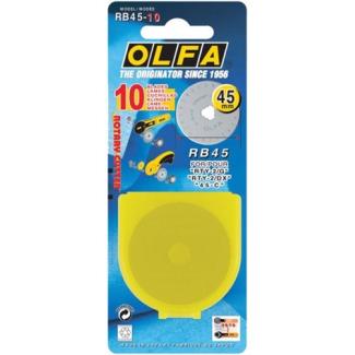 Lame de rechange pour couteau rotatif OLFA 45mm (x1)