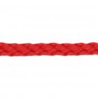 Braided Poly Cord 5mm Red (50m roll)