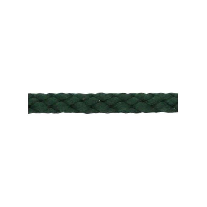Braided Poly Cord 5mm Dark Green (50m roll)
