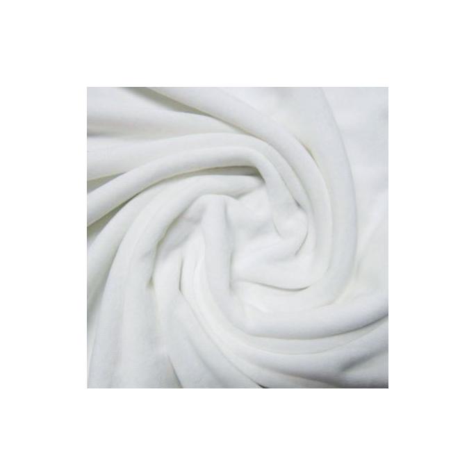 Organic Cotton velours White