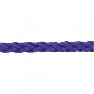 Cordon Anorak tresse plate 5mm Violet (bobine 50m)