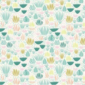 Organic cotton print Ethereal Jungle Jungle Floor Cloud9
