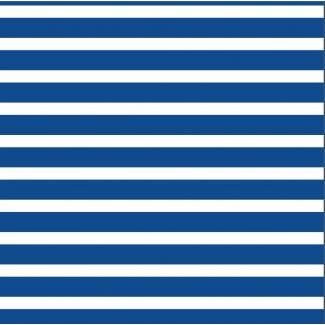 Organic cotton Knit Colourful Stripes Blue Cloud9