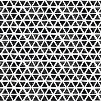 Organic cotton Knit Triangles Black Cloud9