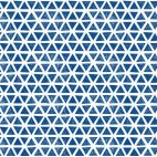 Organic cotton Knit Triangles Blue Cloud9
