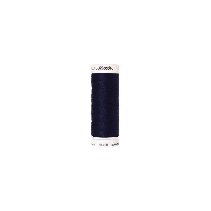 Mettler Polyester Sewing Thread (200m) Color 0016 Dark Indigo