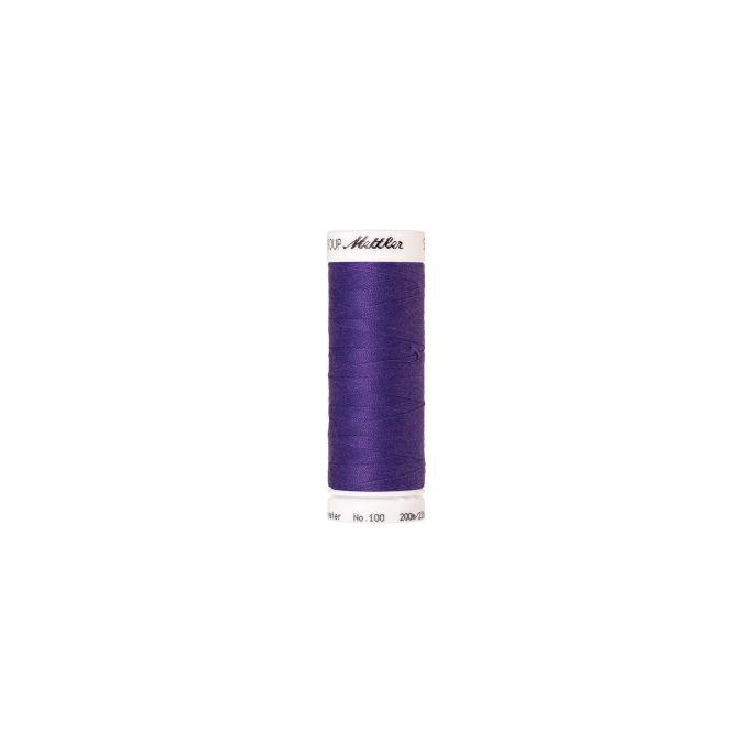 Mettler Polyester Sewing Thread (200m) Color 0030 Iris Blue