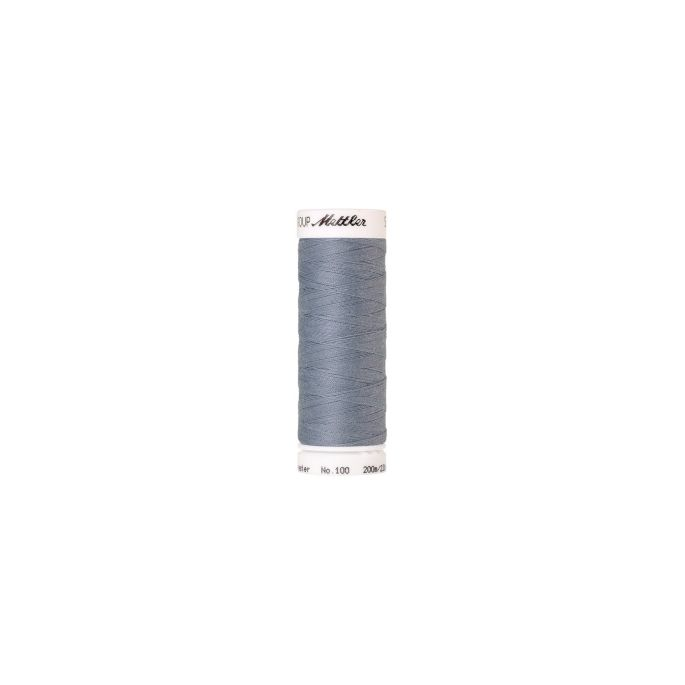 Mettler Polyester Sewing Thread (200m) Color 0042 Ash Blue