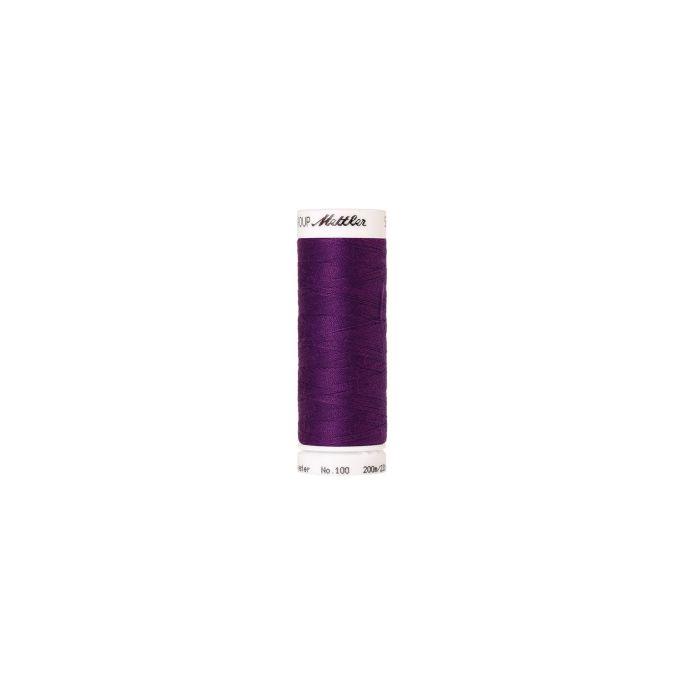 Fil polyester Mettler 200m Couleur n°0056 Raisin Foncé