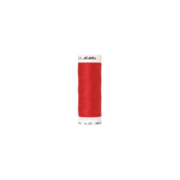 Mettler Polyester Sewing Thread (200m) Color 0104 Candy Apple