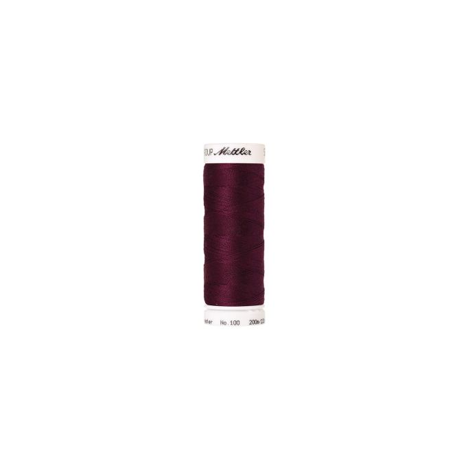 Mettler Polyester Sewing Thread (200m) Color 0108 Wine