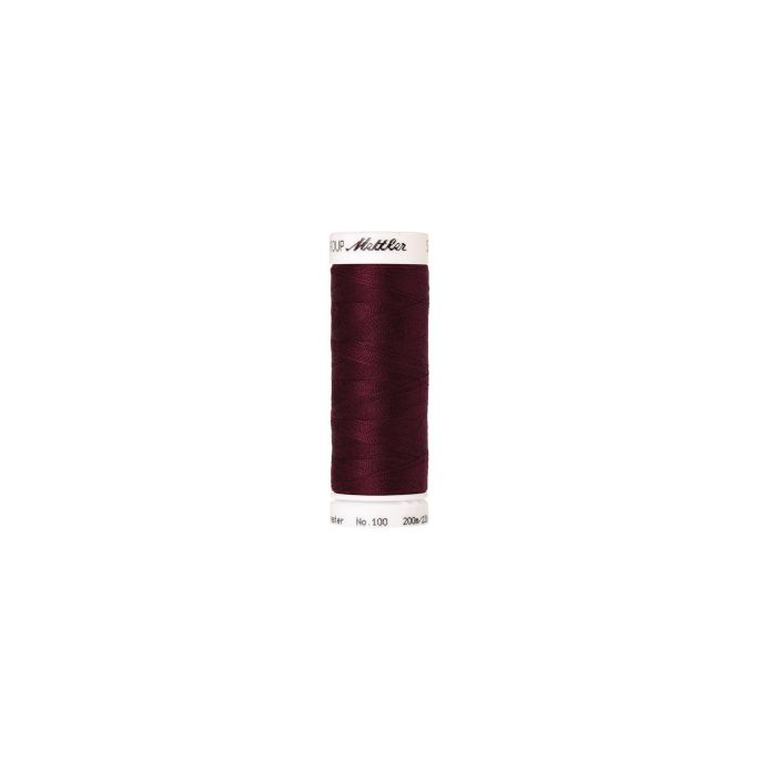 Mettler Polyester Sewing Thread (200m) Color 0109 Bordeaux