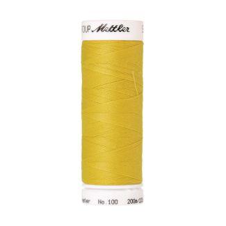Fil polyester Mettler 200m Couleur n°0116 Jaune