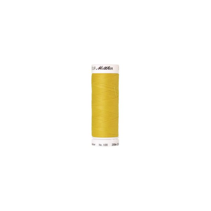 Mettler Polyester Sewing Thread (200m) Color 0116 Yellow