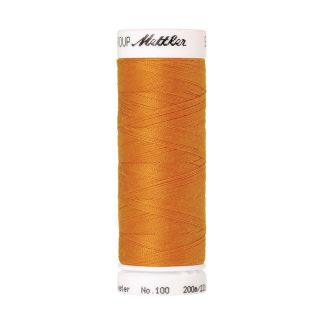 Mettler Polyester Sewing Thread (200m) Color #0121 Liberty Gold