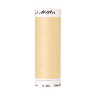 Mettler Polyester Sewing Thread (200m) Color #0129 Vanilla