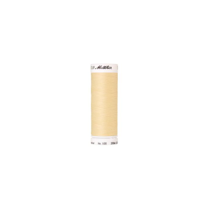Mettler Polyester Sewing Thread (200m) Color 0129 Vanilla