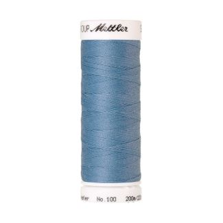 Mettler Polyester Sewing Thread (200m) Color #0272 Azure Blue