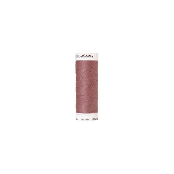 Mettler Polyester Sewing Thread (200m) Color 0284 Teaberry