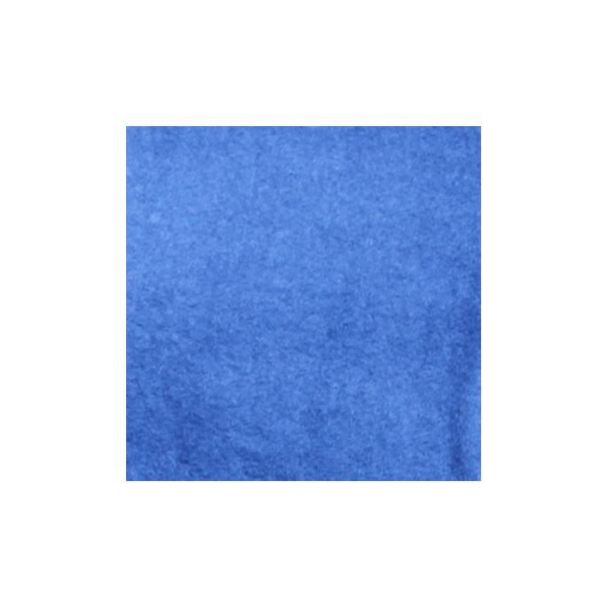 Molleton de coton BIO 310g Bleu Jeans (au mètre)
