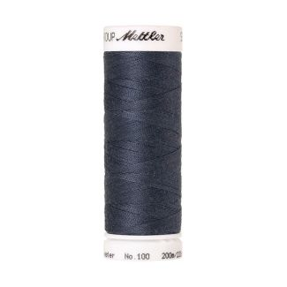Mettler Polyester Sewing Thread (200m) Color #0311 Blue Shadow