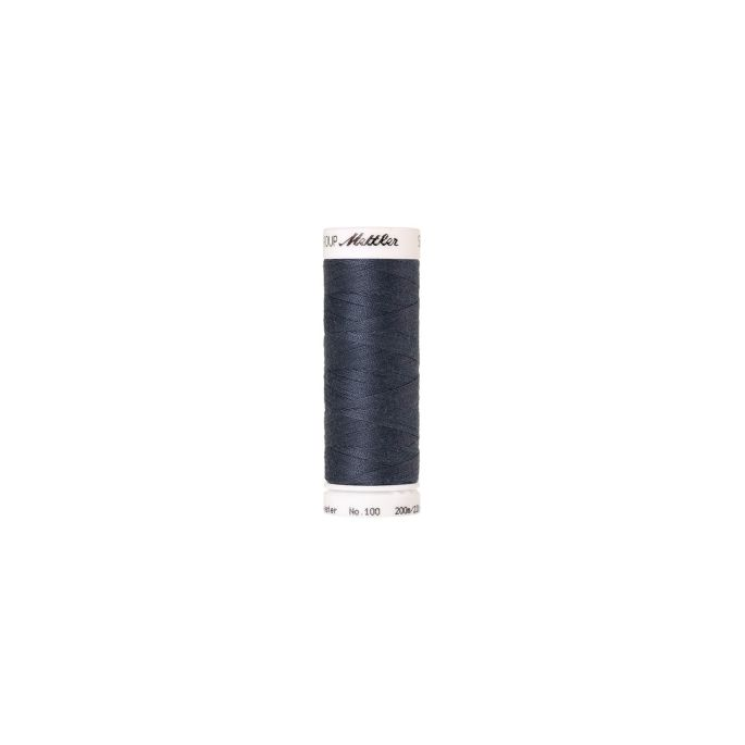 Mettler Polyester Sewing Thread (200m) Color 0311 Blue Shadow