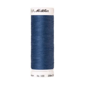 Mettler Polyester Sewing Thread (200m) Color #0351 Smoky Blue