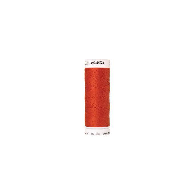 Fil polyester Mettler 200m Couleur n°0450 Paprika