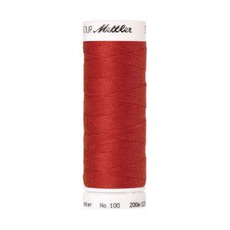 Fil polyester Mettler 200m Couleur n°0501 Rouge Feu