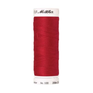 Fil polyester Mettler 200m Couleur n°0503 Rouge Cardinal