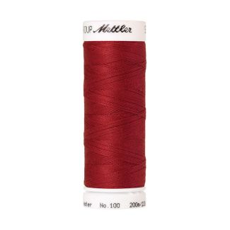 Mettler Polyester Sewing Thread (200m) Color #0504 Country Red